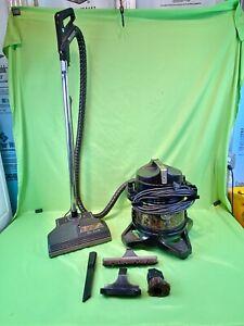 Rainbow Vacuum Model D4C SE Canister/Cylinder w/ Attachments & PN-2 Power Nozzle