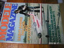 2µ?§ Revue Modele Magazine n°348 L'Hortus Fumigenes Bucker Bu 133 Jungmeister