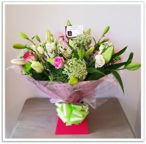 FRESH REAL FLOWERS  Delivered Athena Selection Bouquet includes Free Delivery