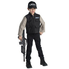 Dress up America Young Heroes Child'S Swat Team Role Play Set Costume - Ages 3-6
