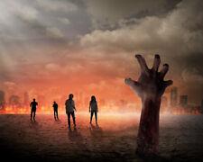 Halloween Zombie Horror Ghost Hand Studio Backdrop 7x5ft Vinyl Photo Background