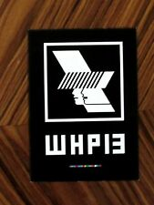 Rare Warehouse Project Manchester 2013 Season Club Line-up Carded Flyer