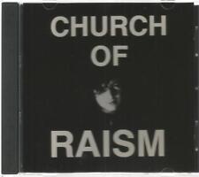 CHURCH OF RAISM rare CD 1989  8 tracks JAMES HAVOC Night Scar DOGSTAR PACT