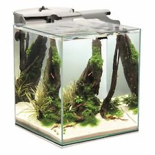 Aquael Shrimp Set Smart Duo Nano Garnelen Aquarium 49 Liter mit Zubehör weiss