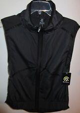 C9 Champion Black Ebony Vest Top Reflective, Zip Pocket, Xs Cycling Walk Run