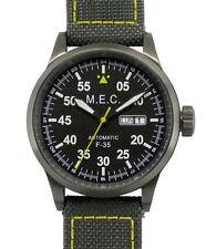Orologio Uomo Automatico Vintage Meccanico Acciaio Militare Subacqueo MEC Nuovo