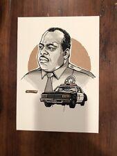 Tyler Stout Die Hard Sgt. Al Powell Variant Handbill Art Mondo