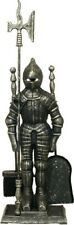 Medieval Companion Set Knight Companion Set Fireside Tools Fireplace Accessories