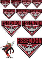Stickers - AFL Essendon Bombers (M1) Sticker Set