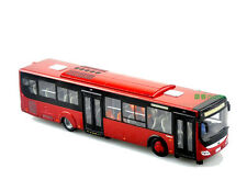 1:42 China Yutong ZK6128HGK Bus Model Red color die cast model