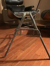 Original Eames Herman Miller Shell Fiberglass Chair H Base Legs MCM base