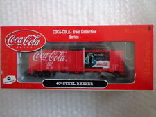 COCA COLA ATHEARN 1/87 SCALE 40' STEEL REEFER CAR #4 OF 6