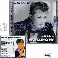 "DEN HARROW ""I SUCCESSI"" CD 12 BRANI - ITALO DISCO"