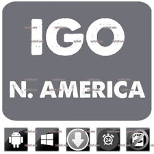 iGO9 Primo GPS Navigation Latest N. America Maps 2018 Windows CE, Android update