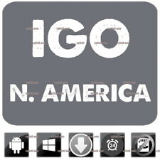iGo Primo 9 GPS Navigation With Latest 2018 N. America Maps for Win CE & Android