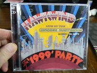HAWKWIND - live at the chicago auditorium the 1999 party  -  2XCD  -