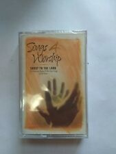 SONGS 4 WORSHIP SHOUT TO THE LORD - AUDIO CASSETTE - INTEGRITY - 2000 - NEW!