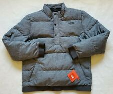 The North Face Men's Eros Goose Down Pullover Jacket Gray Heather XL NWT$149