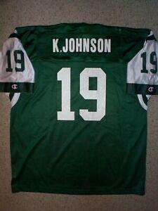 *IRREGULAR* New York Jets KEYSHAWN JOHNSON nfl Jersey Adult MENS/MEN'S (XXL-2XL)