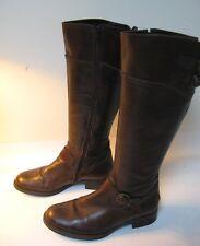 Aldo Boots Women's Brown Leather Knee High - EU 37 (US 6.5)