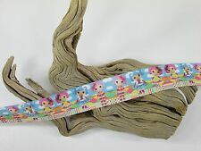 "Clearance 3 Yards 1"" Printed Lalaloopsy Cartoon Grosgrain Ribbon Hair Bow Lisa"