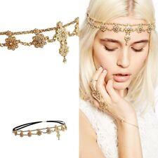 Cinta del pelo reina hada cinta de pelo cadena de pelo pelo joyas cabeza joyas con pedrería frente joyas 22