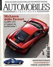 AUTOMOBILES CLASSIQUES n°209 09/2011 MAC LAREN MP4-12C JAGUAR XKR-S BUGATTI 50T