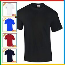 GILDAN Heavy Cotton T Shirt MENS PLAIN T-SHIRT: S M XL XXL 3XL 4XL 5XL BULK BUY