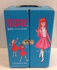 Vintage Mattel 1964 Barbie's LIttle Sister SKIPPER Yellow Vinyl Doll Case