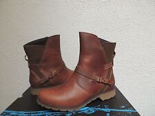 TEVA DE LA VINA BISON WATERPROOF LEATHER ANKLE BOOTS, US 8/ EUR 39 ~ NEW