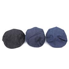 Unisex Denim Jeans Washed Newsboy Beret Hat Duckbill Golf Buckle Cabbie Cap MP