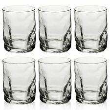 6 x 420ml Bormioli Rocco Beverage Glasses Tumblers Water Juice Drinking Cups Set