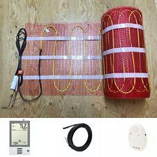 120V UDG 3.7W Electrical Radiant Warming Floor Heating Mesh System Kits