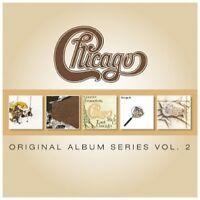 CHICAGO - ORIGINAL ALBUM SERIES VOL.2 5 CD NEU