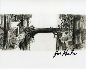 JOE HALE Sleeping Beauty Original Autograph Signed Photo Cinema Walt Disney
