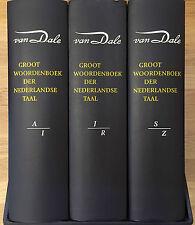 Van Dale Groot Woordenboek van de Nederlandse Taal - kunstlederen editie