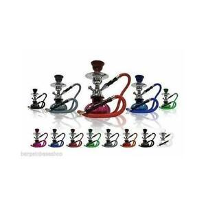 "11"" SHISHA JUNIOR MODERN HOOKAH NARGILLA TRAVEL KIT  1 PIPE + CHARCOAL"