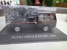 MATRA SIMCA RANCHO de 1982  1/43 I30
