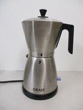 GRAEF EM80 - Espressokocher elektrisch; Edelstahl
