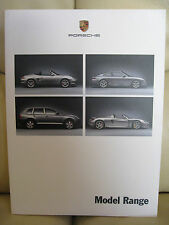 Porsche Model Range Brochure - Edition 07/2003 with 51 pages