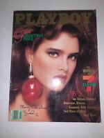 ~Playboy December 1986 Brooke Shields Cover~Christmas Gala NM Bagged & Boarded~