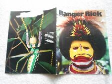 "Ranger Rick Magazine-FEBRUARY,1989---""BIRDMEN"""