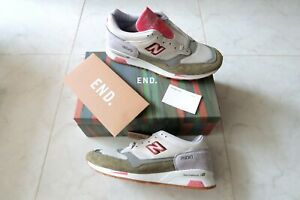 NEW BALANCE x END RAINBOW EUCALYPTUS MADE IN ENGLAND SNEAKER US11