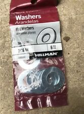 """Hillman Flat Washers 7/16"""" Set Of 6"""