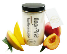 (€ 34,63/kg) Saunasalz  Mango - Pfirsich 400g - Saunapeeling - Peelingsalz
