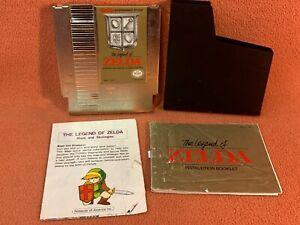 Legend Zelda Nintendo NES Original Authentic Maps Strategies Instruction Manual!