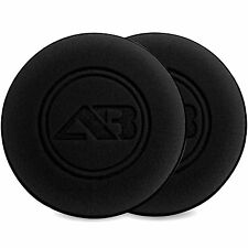Autobright X2 Extra Large Car Wax polish Sealant Foam Black Applicator 12.7x2cm