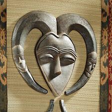 African Gabon Tribal  Art Wall Mask Exotic Sculpture
