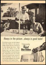1962 Ebony magazine ad for Pabst Blue Ribbon Beer-367