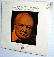 WINSTON CHURCHILL The Memory of a Great Man SEALED LP Chet Huntley narration